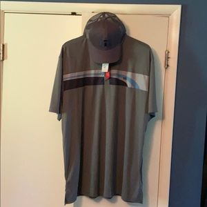 Golf polo and hat combo - Travis Mathew